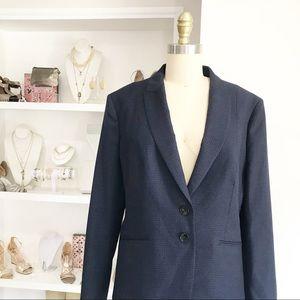 Hugo Boss • Micro Window Pane Wool Blazer